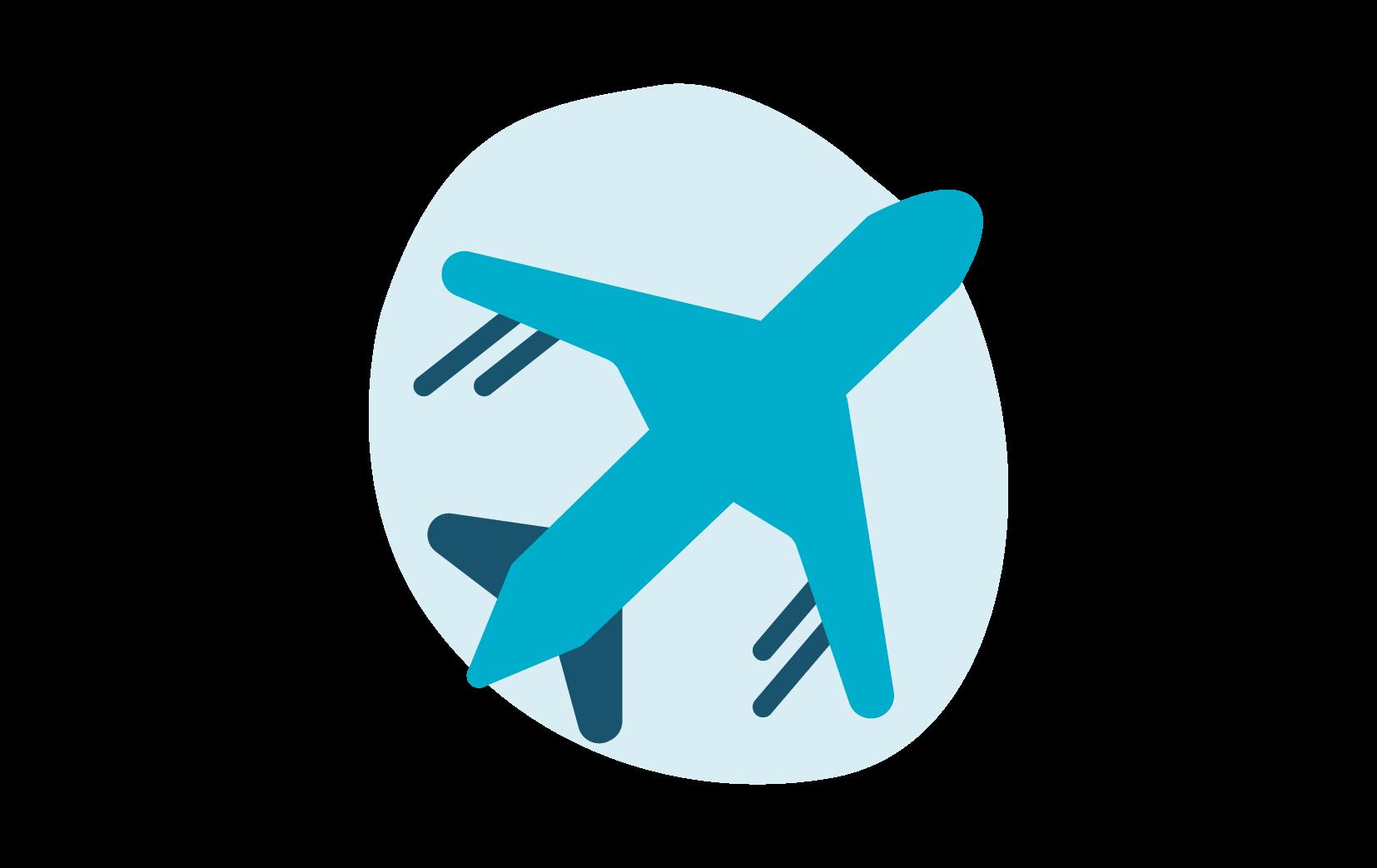 Icoon van een vliegtuig
