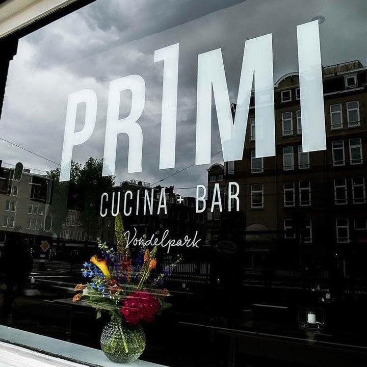 Voorgevel van Primi Amsterdam