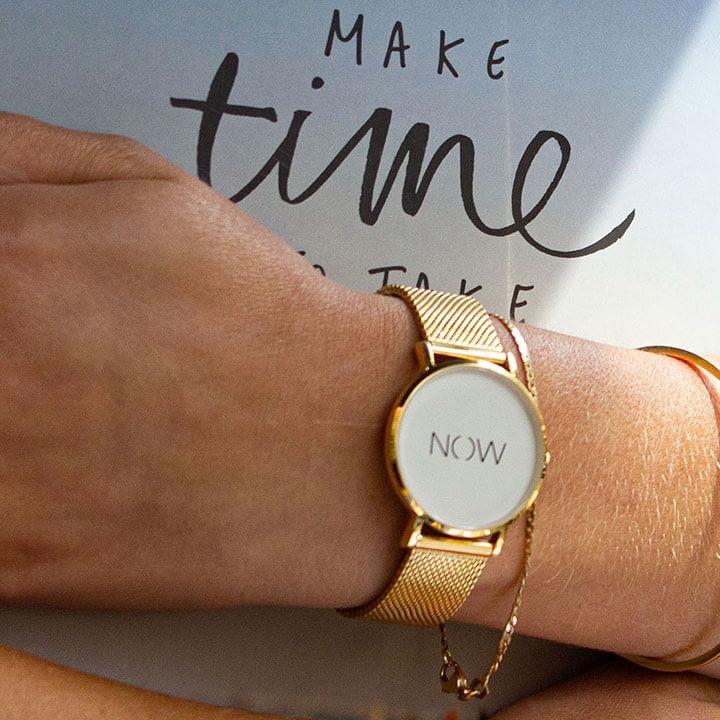 Damespols met de Gold Watch Now Exclusive Collection