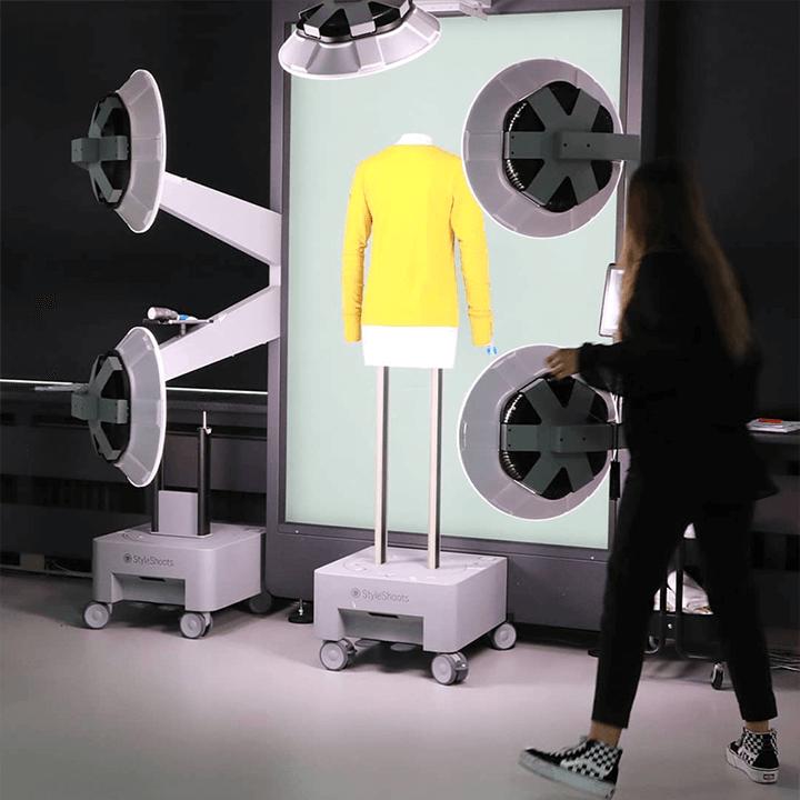 Achter de schermen bij Exposar productfotografie