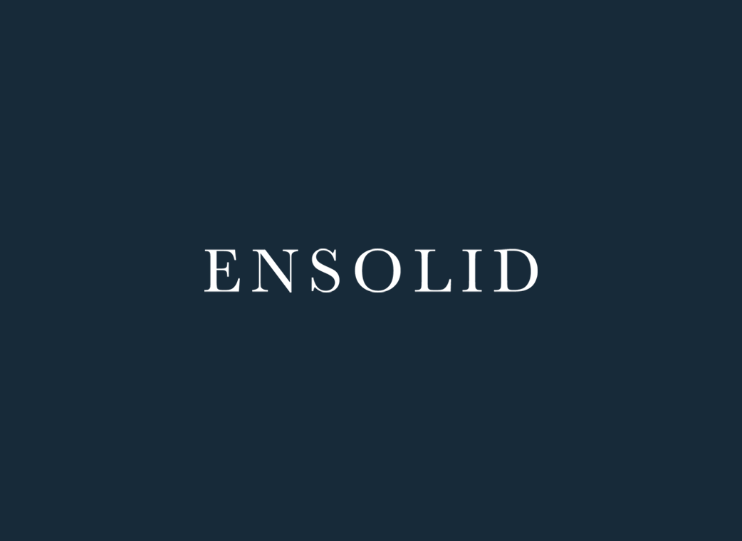 WP Masters Portfolio item with Ensolid logo